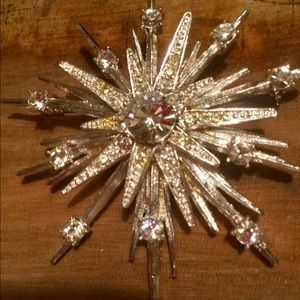Vintage Avon Starburst Wedding Brooch